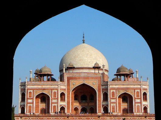 Humayun's Tomb from the entrance