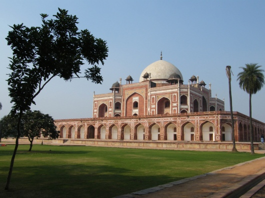 View Of Humayun's Tomb