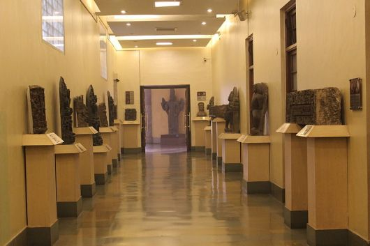 The Entrance Corridor of Museum