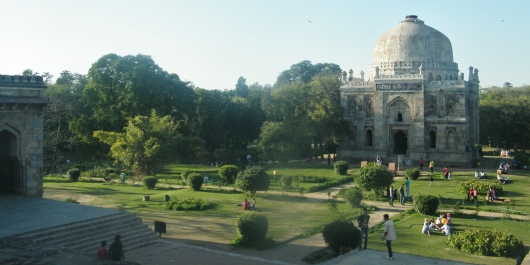 People at Lodhi garden