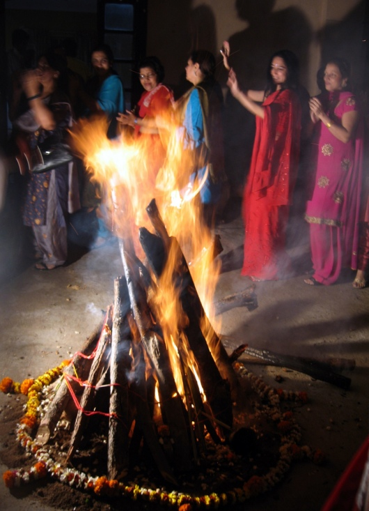 Celebration Of Lohri