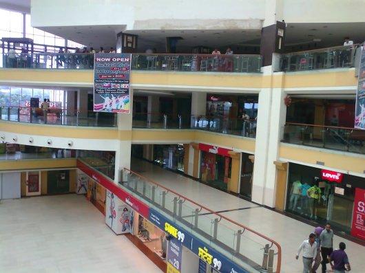 Inside Omaxe Mall
