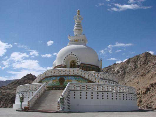 Shanti Stupa Ladakh