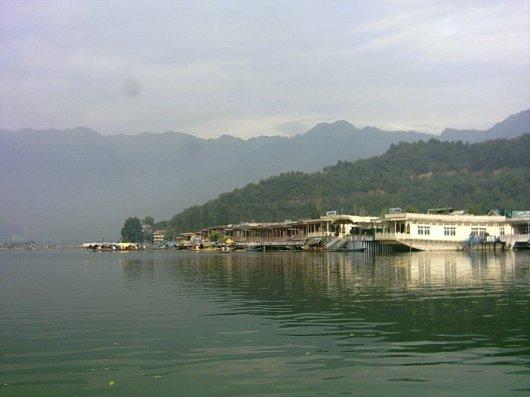 Houseboat At Dal Lake