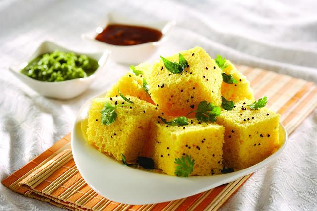 Khaman dhokla recipe adventurous gopal khaman dhokla forumfinder Image collections