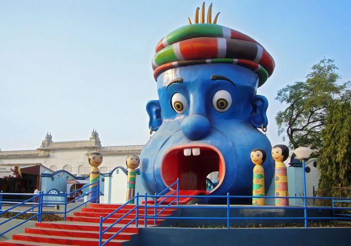 Inside Kids Park