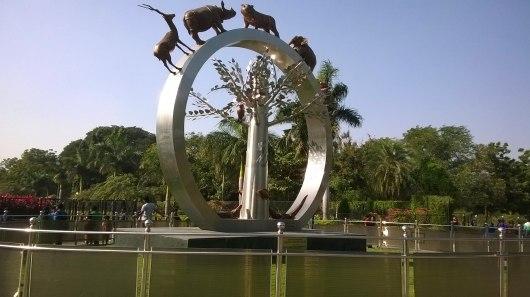 Entrance of Nehru Zoological Park