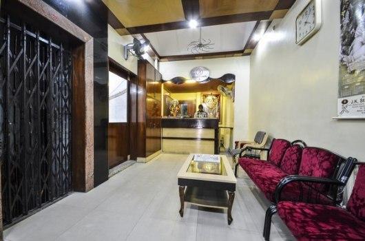 Reception Desk At Hotel Rahul International Hyderabad