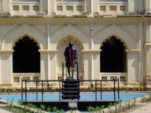 Statue at Gandhi Museum In Madurai