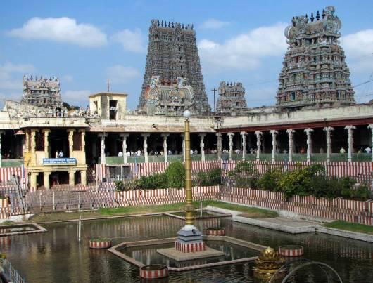Temples At Madurai