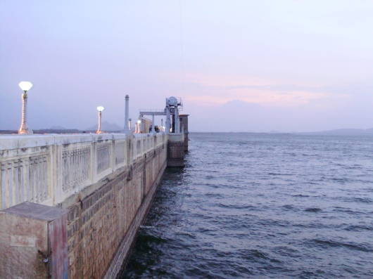 Vaigai Dam in Madurai