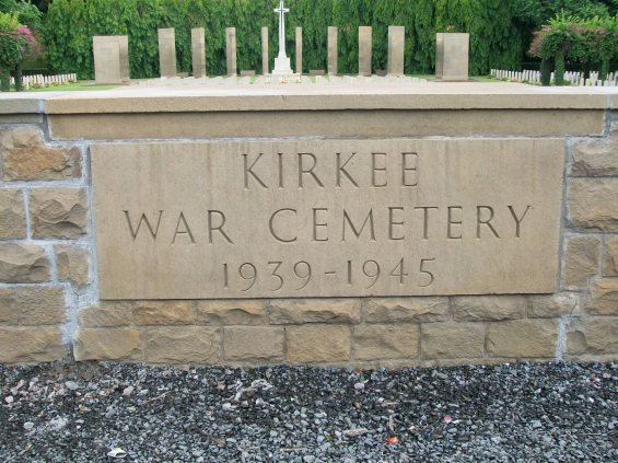 Stone of Remembrance at Kirkee War Cemetery