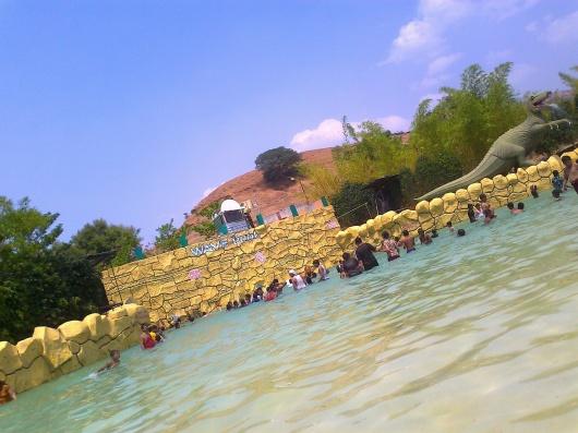 Wave Pool at Krushnai Water Park